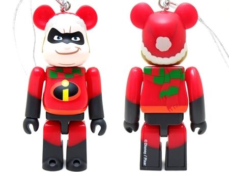 Happyくじ Disney PIXAR Christmas Party 2013 ミスター・インクレディブル クリスマス Ver ベアブリック (BE@RBRICK)