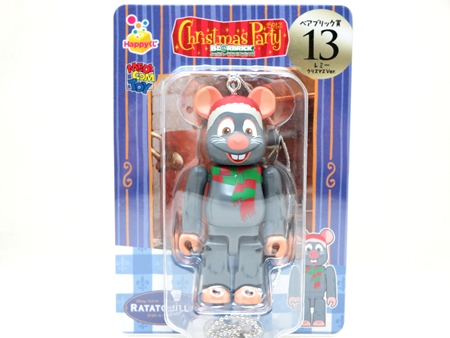 Happyくじ Disney PIXAR Christmas Party 2013 レミー クリスマス Ver ベアブリック (BE@RBRICK)