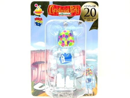 Happyくじ Disney PIXAR Christmas Party 2013 カールじいさんの空飛ぶ家 ロゴ ベアブリック (BE@RBRICK)