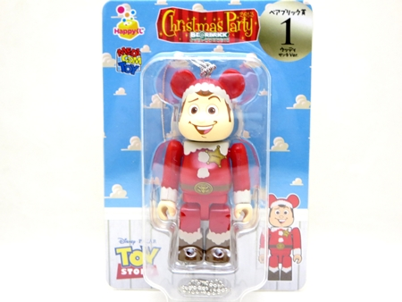 Happyくじ Disney PIXAR Christmas Party 2013 ウッディ サンタ Ver ベアブリック (BE@RBRICK)