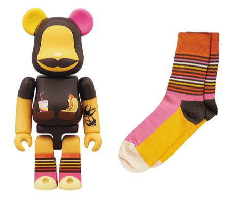Happy Socks ベアブリック(BE@RBRICK)