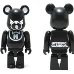 HYSTERIC BEAR BLACK ベアブリック(BE@RBRICK)