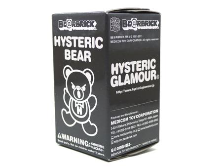 HYSTERIC BEAR BLACK ベアブリック(BE@RBRICK)