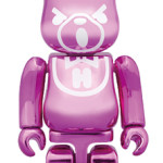 HYSTERIC BEAR METALLIC PINK ベアブリック(BE@RBRICK)[発売]