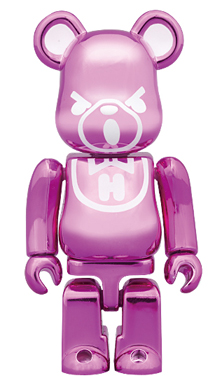 HYSTERIC BEAR METALLIC PINK ベアブリック(BE@RBRICK)