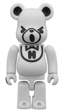 HYSTERIC BEAR WHITE ベアブリック(BE@RBRICK)