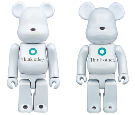 i am OTHER 100% 400% ベアブリック (BE@RBRICK)