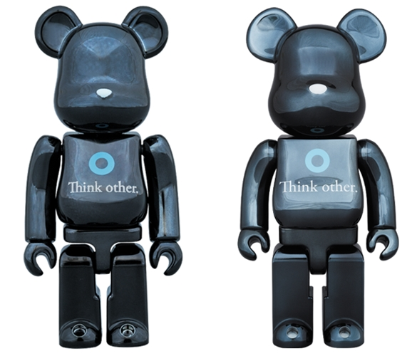 i am OTHER 100% 400% BLACK Ver ベアブリック (BE@RBRICK)