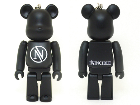 Invincible unbreakable 100% ベアブリック(BE@RBRICK)