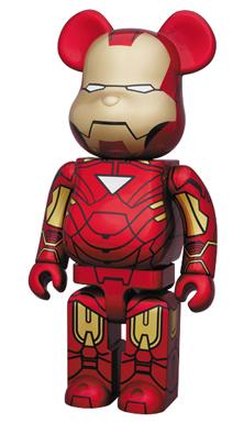 アイアンマン 2 (IRON MAN 2) 400% ベアブリック(BE@RBRICK)