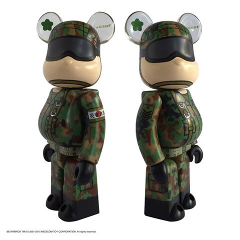 陸上自衛隊 JGSDF (Japan Ground Self-Defense Force) 災害派遣 Ver ベアブリック (BE@RBRICK)