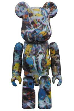 Jackson Pollock Studio 100% ベアブリック (BE@RBRICK)