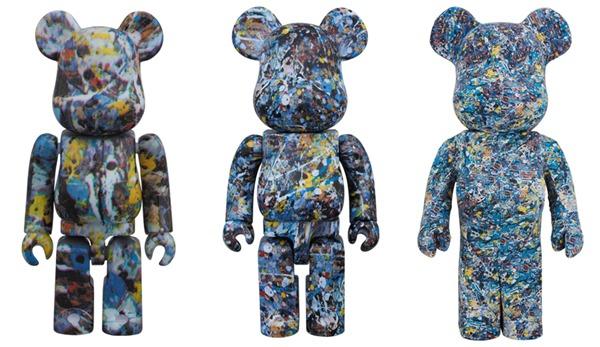 Jackson Pollock Studio 100% 400% 1000% ベアブリック (BE@RBRICK)