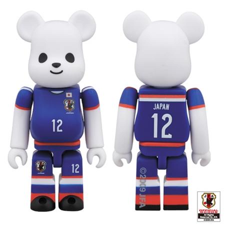 サッカー日本代表モデル ベアブリック (BE@RBRICK)