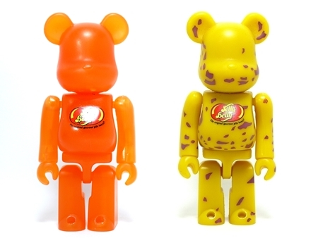 Jelly Belly (Tangerine & Top Banana) ベアブリック(BE@RBRICK)