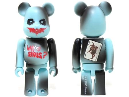 JOKER THE DARK KNIGHT 2pc ベアブリック (BE@RBRICK)