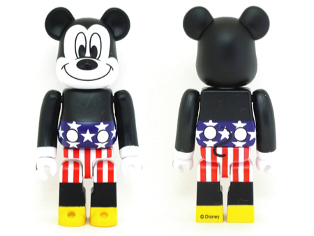 JOYRICH MICKEY MOUSE USA Ver ベアブリック(BE@RBRICK)
