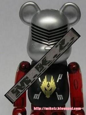 仮面ライダー ドラゴンナイト ベアブリック(BE@RBRICK)