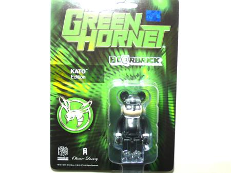 GREEN HORNET & KATO ベアブリック(BE@RBRICK)