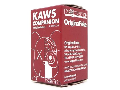 KAWS OF COMPANION (人体模型) 100% ベアブリック (BE@RBRICK)