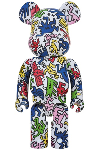 KEITH HARING 1000% ベアブリック (BE@RBRICK)