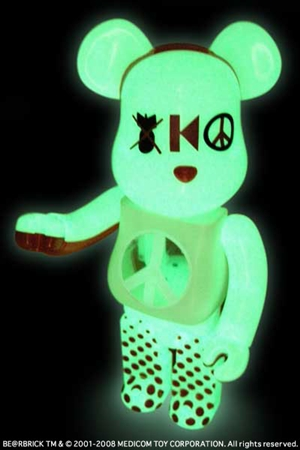 kinetics 5th Anniversary 100% & 400% ベアブリック(BE@RBRICK)