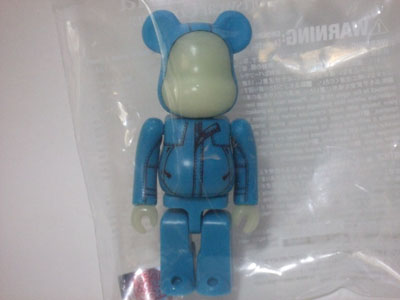Kinetics Columbia 6th Anniversary 100% ベアブリック(BE@RBRICK)