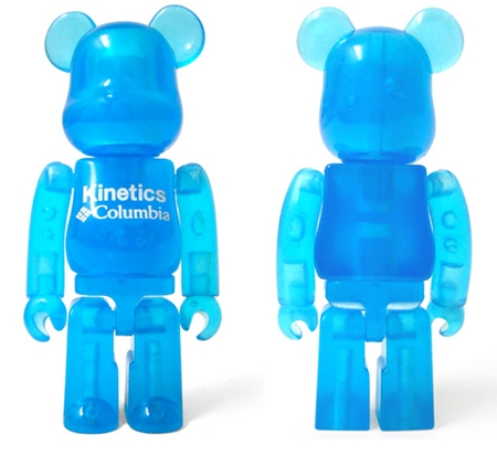 Kinetics Columbia 7th Anniversary 100% ベアブリック(BE@RBRICK)