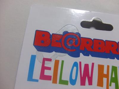 LEILOW 09' ベアブリック(BE@RBRICK)