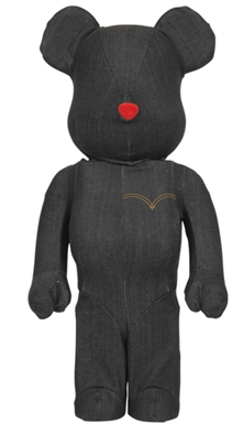 Levi's BLACK DENIM 1000% ベアブリック(BE@RBRICK)