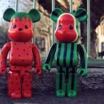Levi's CLOT Watermelon & Strawberry 1000% ベアブリック(BE@RBRICK)[情報その2]
