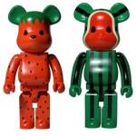 Levi's CLOT Watermelon & Strawberry 1000% ベアブリック(BE@RBRICK)[発売]