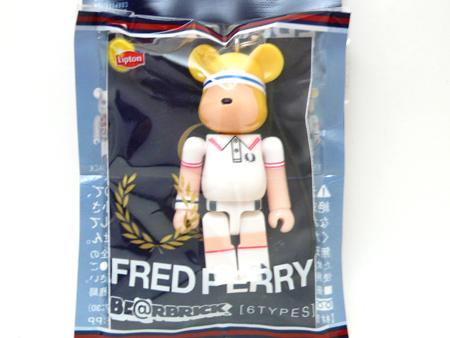 リプトン FRED PERRY TENNIS 70% ベアブリック(BE@RBRICK)