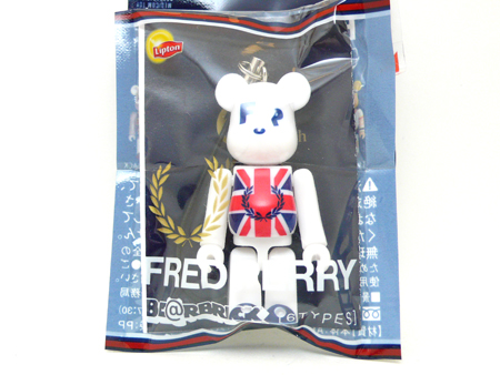 リプトン FRED PERRY UNION JACK 70% ベアブリック(BE@RBRICK)