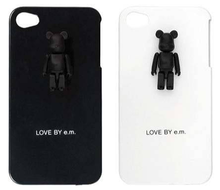 LOVE BY e.m. PLUS 50% iPhoneケース ベアブリック(BE@RBRICK)