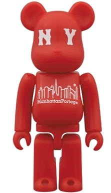 Manhattan Portage 30th Anniversary ベアブリック(BE@RBRICK)