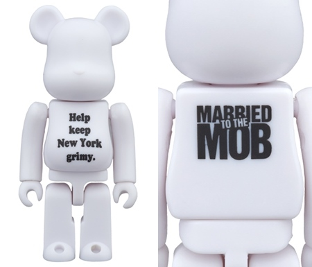 Married to the Mob (MTTM) ベアブリック (BE@RBRICK)
