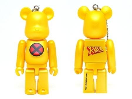 Happyくじ MARVEL X-MEN ロゴ ベアブリック (BE@RBRICK)