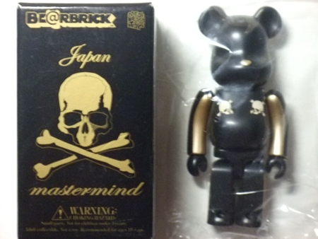 mastermind JAPAN ハロウィーン 100% ベアブリック(BE@RBRICK)