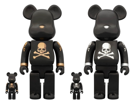 mastermind JAPAN GOLD & SILVER 100% & 400% ベアブリック(BE@RBRICK)