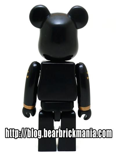 mastermind JAPAN GOLD BLACK 100% ベアブリック(BE@RBRICK)