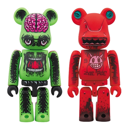 MAXX242 vs Jeff Soto 2pc ベアブリック(BE@RBRICK)