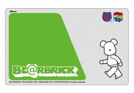 MEDICOM TOY EXHIBITION 14 開催記念キャンペーン ICカードステッカー
