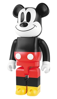 MICKEY MOUSE 1000% ベアブリック(BE@RBRICK)