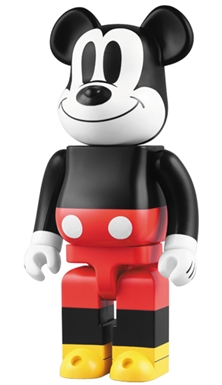 MICKEY MOUSE 400% ベアブリック(BE@RBRICK)