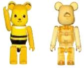 ミツバチ & ハニー 50% ベアブリック(BE@RBRICK)