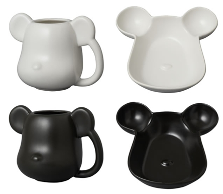 ベアブリック (BE@RBRICK) MUG & TRAY MAT COLOR
