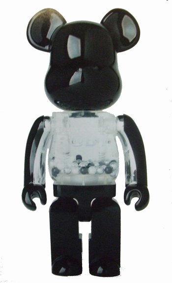 MY FIRST B@BY BLACK & SILVER ver. 400% ベアブリック(BE@RBRICK)