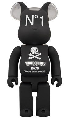 NEIGHBORHOOD 400% ベアブリック(BE@RBRICK)