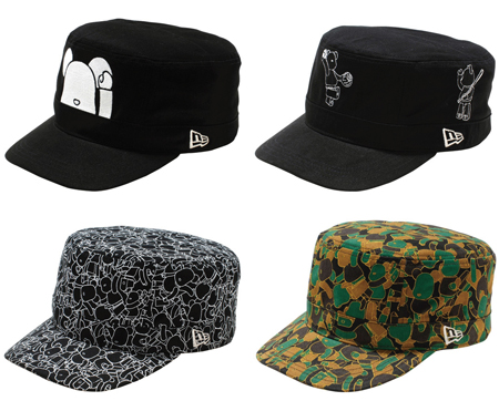 New Era Cap 2011 100% ベアブリック(BE@RBRICK)